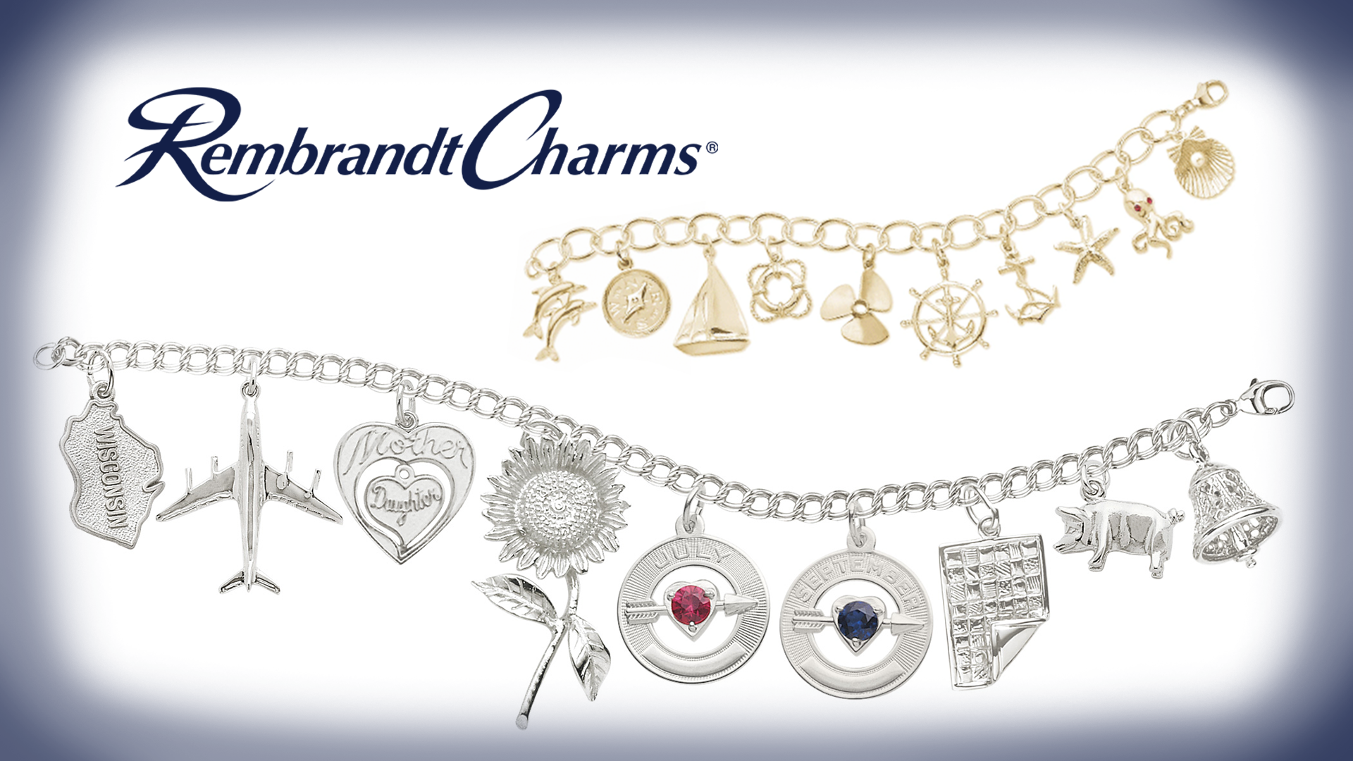Rembrandt Charms, Jewelry, Fine Jewelry, Charms, Bracelet, Bracelets, Geiss and Sons, Greenville, South Carolina