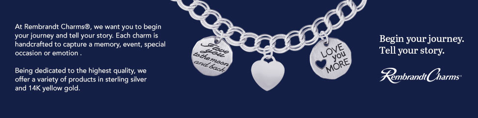 Rembrandt Charms, Bracelet, Necklace, Jewelry, Fine Jewelry, Charms, Jewelry Stores, Geiss and Sons, Greenville, South Carolina